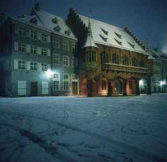 Muensterplatz -- Freiburg, Germany - want to go in the winter!!