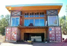 Container House I cant imagine this is very cheap to make