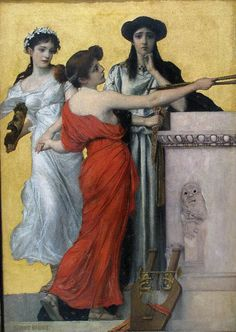 Erns Klimt, Three Muses, The George Economou Collection, New Municipal Gallery Of Athens