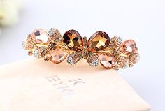 Beyend Champagne Womens Fashion Crystal Butterfly Hair Clip Head Wear ** Details can be found by clicking on the image. (This is an affiliate link) Butterfly Hair, About Hair, Hair Clips, Champagne, Image Link, Hair Accessories, Stud Earrings, Women's Fashion, Note