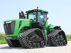 John Deere R Series - custom tracks
