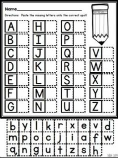AbcLanguage: EnglishGrade/level: Grade 1School subject: EnglishMain content: Match the lABC lettersOther contents: ABC Kindergarten Readiness, Kindergarten Learning, Preschool Learning Activities, Preschool Lessons, Teaching Kids, Kindergarten Freebies, Free Worksheets For Kindergarten, Back To School Worksheets, Pre K Worksheets