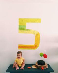 5 meses Matteo por @vana_ferreira.