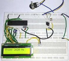 In this project we are going to count the number of pulses entering into Port of 8051 microcontroller and display it on LCD display. Arduino Projects, Circuits, Counter, Base, Log Projects