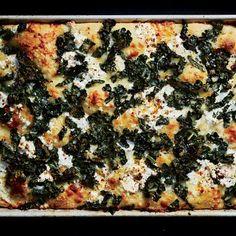 Swiss Chard Recipes, Kale Recipes, Pizza Recipes, Cooking Recipes, Cheese Recipes, Kale Pie Recipe, Vegetable Recipes, Dairy Recipes, Cooking Bread
