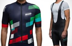 MAAP Rise Jersey and Team Bib Short http://www.bicycling.com/bikes-gear/apparel/the-40-best-cycling-kits-of-2016/slide/30