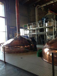Photo of brew house at Ballast Point Brewery San Diego Miramar