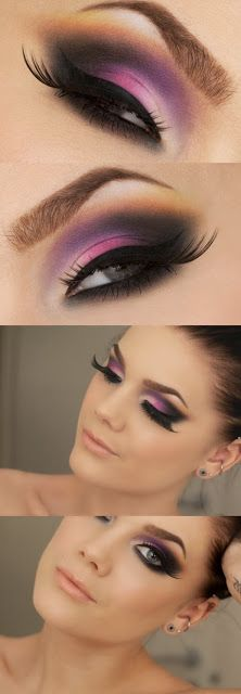 Hallberg - Pink eyeshadow - I'm gonna have to try this, cuz that color looks awesome on me!Linda Hallberg - Pink eyeshadow - I'm gonna have to try this, cuz that color looks awesome on me! Gorgeous Makeup, Pretty Makeup, Love Makeup, Makeup Inspo, Makeup Inspiration, Makeup Tips, Makeup Looks, Makeup Ideas, Makeup Geek