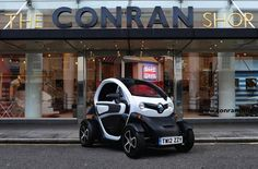 Renault Twizy is the first ever fully electric urban compact two seater. It possesses a unique design with bright styling that is not only fun to drive but quick, simple and specially suited for London's busy streets. Small and compact in design, parking also does not pose a problem as this vehicle can be parked in the tightest of parking spaces.