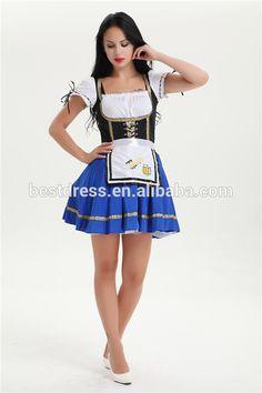 walson Ladies Blue Beer Maid Wench Oktoberfest Costume Gretchen German Fancy Dress UP Oktoberfest Costume, Oktoberfest Beer, Beer Maid, Fancy Dress Up, Costume Accessories, Blue Shorts, German, Costumes, Lady