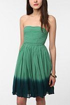 Staring at Stars Crepe Ombre Hem Dress  #UrbanOutfitters