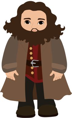 Hagrid ✴ nástenka https://sk.pinterest.com/dortefrost/clipart-magic-and-fairytales/