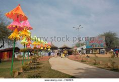 Surajkund international crafts mela, faridabad, haryana, india, asia - Stock Image
