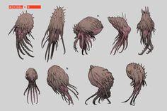 ArtStation - Lava Fauna Concepts, Stephen Oakley