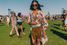 Festival Style embroidery at Coachella 2016 shot by Driely S.| Spell Blog