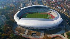 Cluj Arena (Cluj, Romania) By Dico si Tigānas-Birou De Proiectare