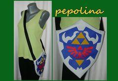Hylian Shield Okarina der Zeit Legende von Zelda Tasche