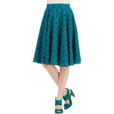 ModCloth 50s High Waist Ikebana for All Skirt (45 CAD) ❤ liked on Polyvore featuring skirts, blue, apparel, bottoms, high waisted floral skirt, floral print midi skirt, floral skirt, midi skirt and blue skirt