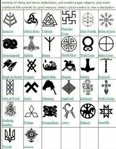 symbols and meanings tattoo / symbols and meanings . symbols of strength . symbols of love . symbols and meanings spiritual . symbols and meanings tattoo . symbols for family Viking Symbols And Meanings, Nordic Symbols, Mayan Symbols, Celtic Symbols, Egyptian Symbols, Ancient Symbols, Spiritual Symbols, Home Tattoo, Simbolos Tattoo