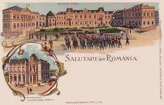 Bucuresti - Palatul Regal si Fundatia Carol I  anii 1900