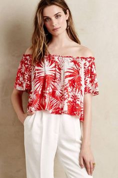 Moani Midi Top by Plenty by Tracy Reese