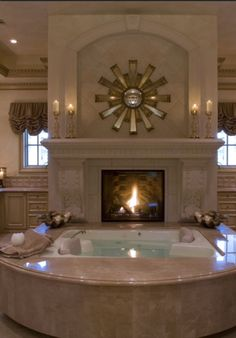 Inside Luxury Mansions Bathrooms