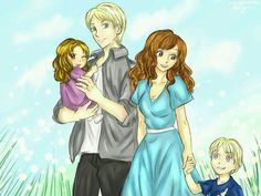 Dramione family #cuteness