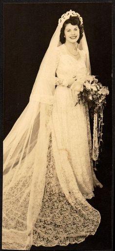 175 best Wedding Dresses & Vintage Brides images on Pinterest | Old ...