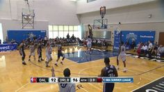 Tyler Honeycutt finishes the sweet inbounds alley-oop at #NBASummer!