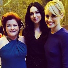 Kate Mulgrew/Red , Laura Prepon/ Alex Vause and Taylor Schilling/Piper