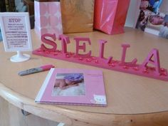 "Cute idea for a girl's birthday party: Instead of a ""white party,"" a ""Pink Party!""  Ideas and links for where to buy at Simple/Fancy/Fun -  girl's 1st birthday party ideas - guestbook with album of baby's first year"