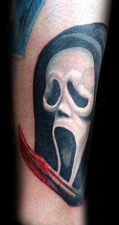 ghostface tattoos