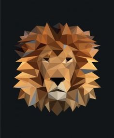 The geometric lion print from Mr Wolf & Co. www.sobeaubaby.com