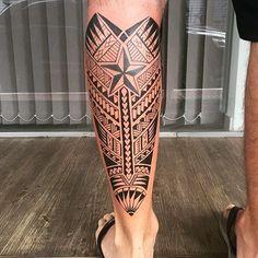 """524 curtidas, 8 comentários - Gustavo Teixeira Franzoni (@guteixeiratattoo) no Instagram: """"Cliente já tinha a estrela e eu envolvi com maori. #maoritattoo #maori #polynesian #tatuagemmaori…"""""""