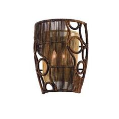 Check out the Corbett Lighting 129-12 Havana 2 Light Wall Sconce in Two Tone Natual Wood priced at $398.00 at Homeclick.com.