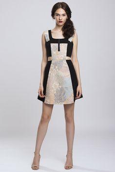 Pulse Studio Amsonia Brocade Dress