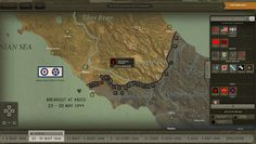 Liberating Rome and Central Italy, a World War II Online Interactive, Released