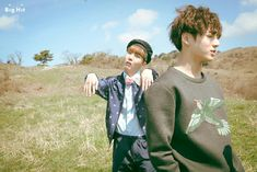 화양연화 : Young Forever Jacket Shooting J-Hope & Jung Kook | 정호석 & 전정국