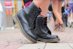 docs. ♡ I can't decide if I wanna buy a pair of these or new combat boots since mine are falling apart from wearing them so much. Somebody help???