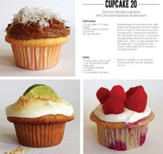 The cupcake project in Cupcakes and muffins recipes, step by step instructions of how to cook and bake