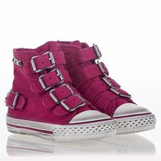 Comfortable Flip Sneaker Fuxia Canvas 312134 Popular | Ash Sneaker Virgin Bis