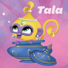 Shimmer's monkey Tala is a sweet, playful goofball who loves to climb all over Shimmer and sit on her shoulders and head. She loves to dress up and her natural curiosity can sometimes cause a bit of trouble!