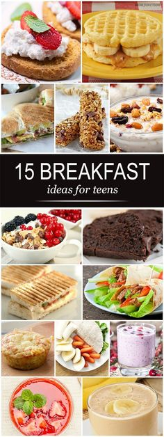 Breakfast Ideas For Teens: If you're nodding in agonized agreement, we are here to help. Try out these quick, healthy, filling and delicious breakfast ideas that may tempt your teen to eat.
