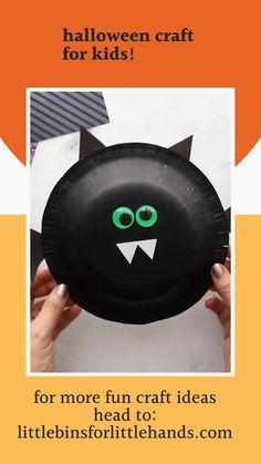 Halloween Craft Activities, Fall Preschool Activities, Halloween Crafts For Kids, Halloween Food For Party, Fall Crafts, Halloween 2020, Halloween Ideas, Projects For Kids, School Projects