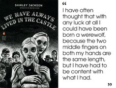 We Have Always Lived in the Castle by Shirley Jackson | 46 Brilliant Short Novels You Can Read In A Day