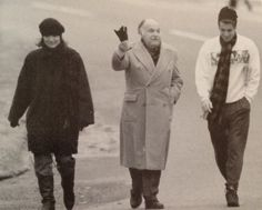 Jackie with the two men in her life ❤ six weeks before her death.