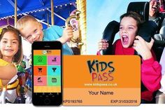 12mth Kids Pass - Great Savings at 1000s of Attractions Nationwide!