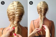 Catch of the Day: Fishtail Mermaid Braid | Divine Caroline