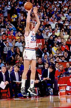 Larry Bird, 1988 NBA All- Star Game~my favorite athlete of all time.
