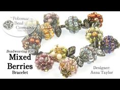 "Make a "" Mixed Berries "" Bracelet - #Seed #Bead #Tutorials"